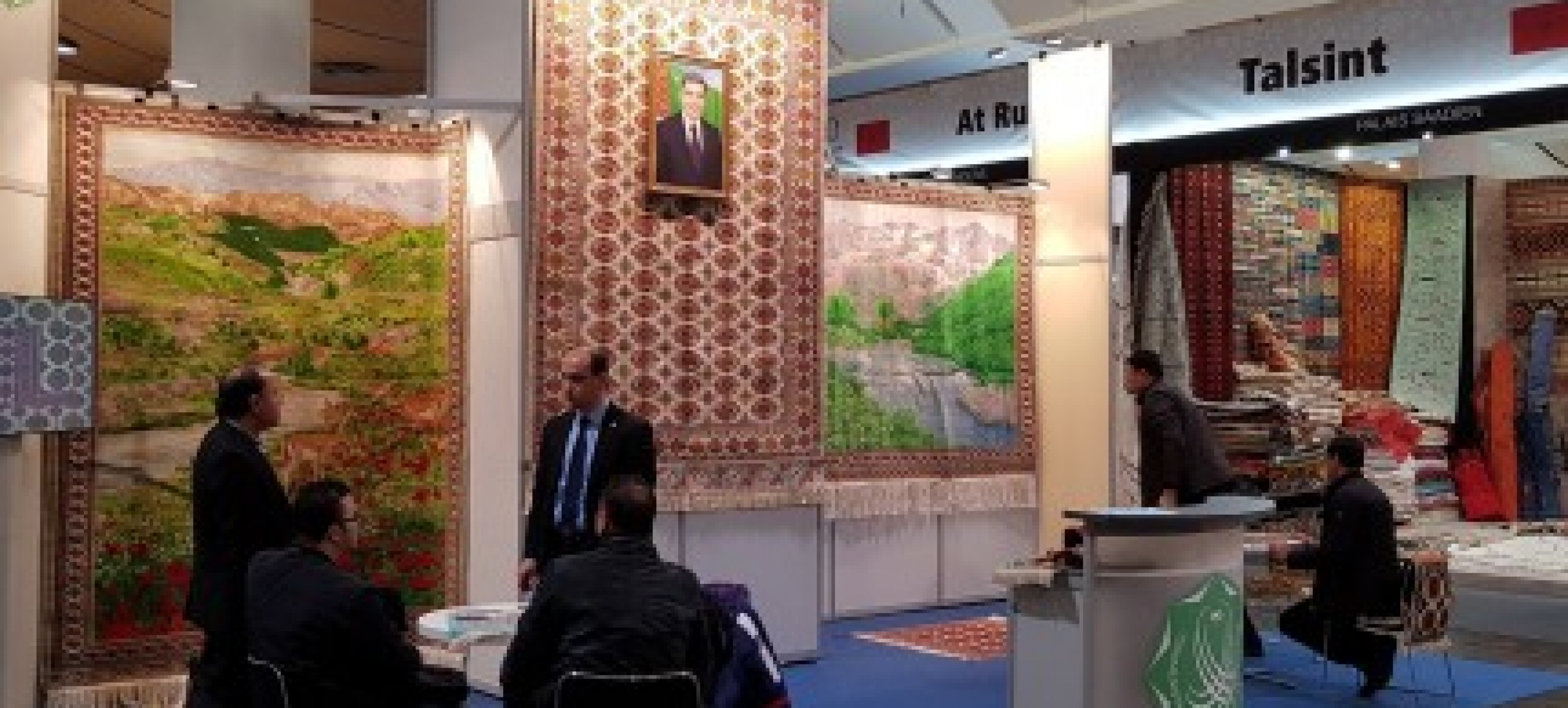 THE PRESENTATION OF CARPET PRODUCTION AT THE INTERNATIONAL EXHIBITION «DOMOTEX 2019» IN HANNOVER, GERMANY