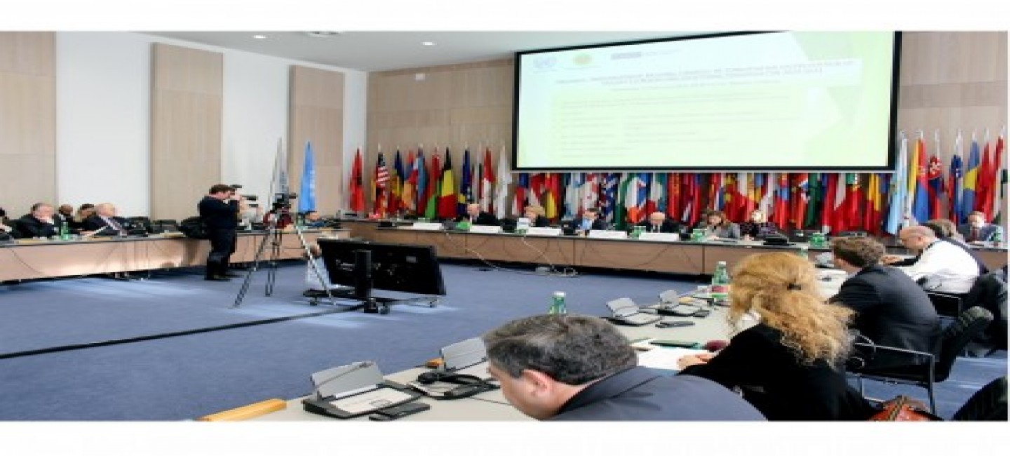 """A SIDE-EVENT ON THE """"NATIONAL STRATEGY OF TURKMENISTAN FOR THE PREVENTION OF VIOLENT EXTREMISM AND COUNTERING TERRORISM"""" WAS HELD IN THE MARGINS OF JOINT OSCE-UNOCT HIGH-LEVEL CONFERENCE IN VIENNA"""