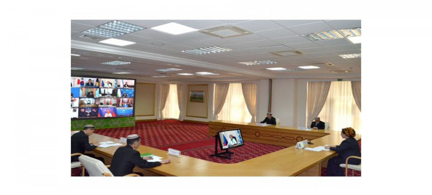 THE MEETING OF THE HEADS OF PARLIAMENTS STARTED IN ASHGABAT