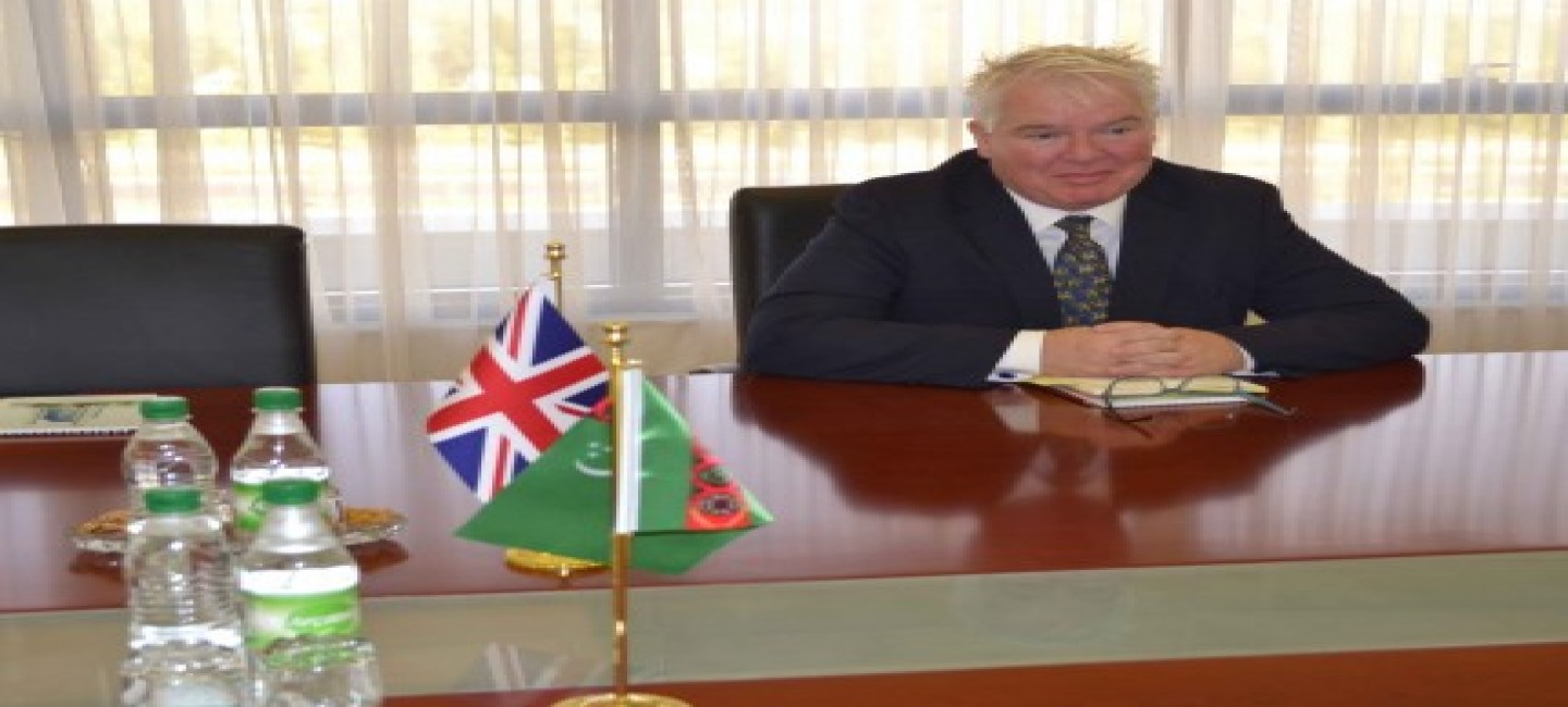 AMBASSADOR OF GREAT BRITAIN PRESENTED COPIES OF HIS CREDENTIALS