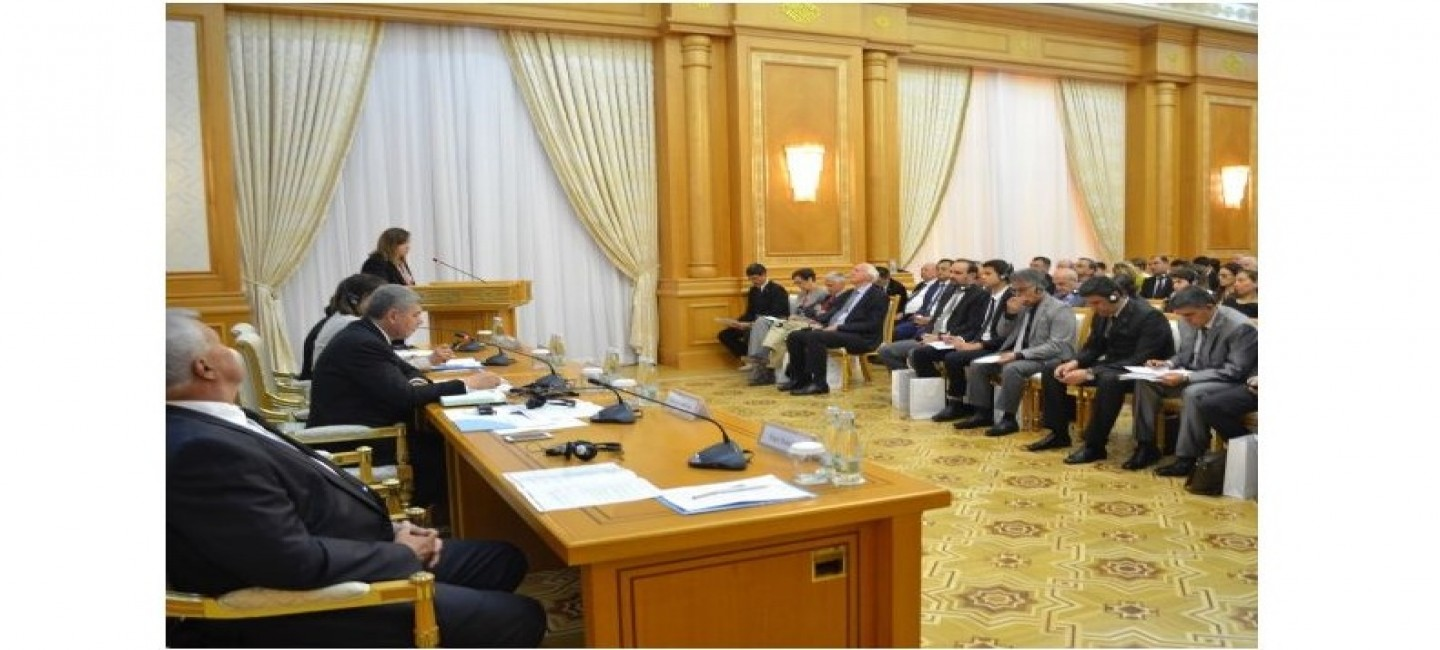 """CONFERENCE ON THE """"ROLE OF WATER DIPLOMACY IN ACHIEVING SUSTAINABLE DEVELOPMENT IN CENTRAL ASIA"""" TAKES PLACE IN ASHGABAT"""