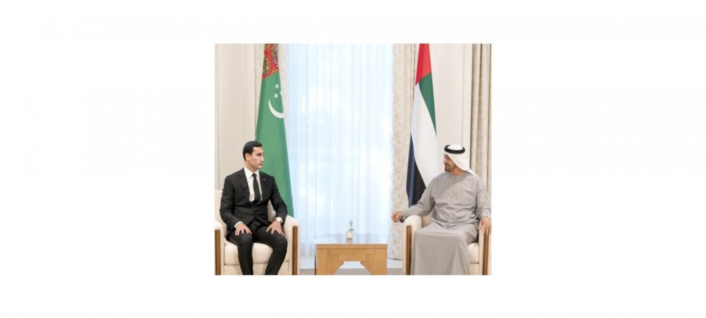 VISIT OF THE GOVERNMENTAL DELEGATION OF TURKMENISTAN TO THE UNITED ARAB EMIRATES