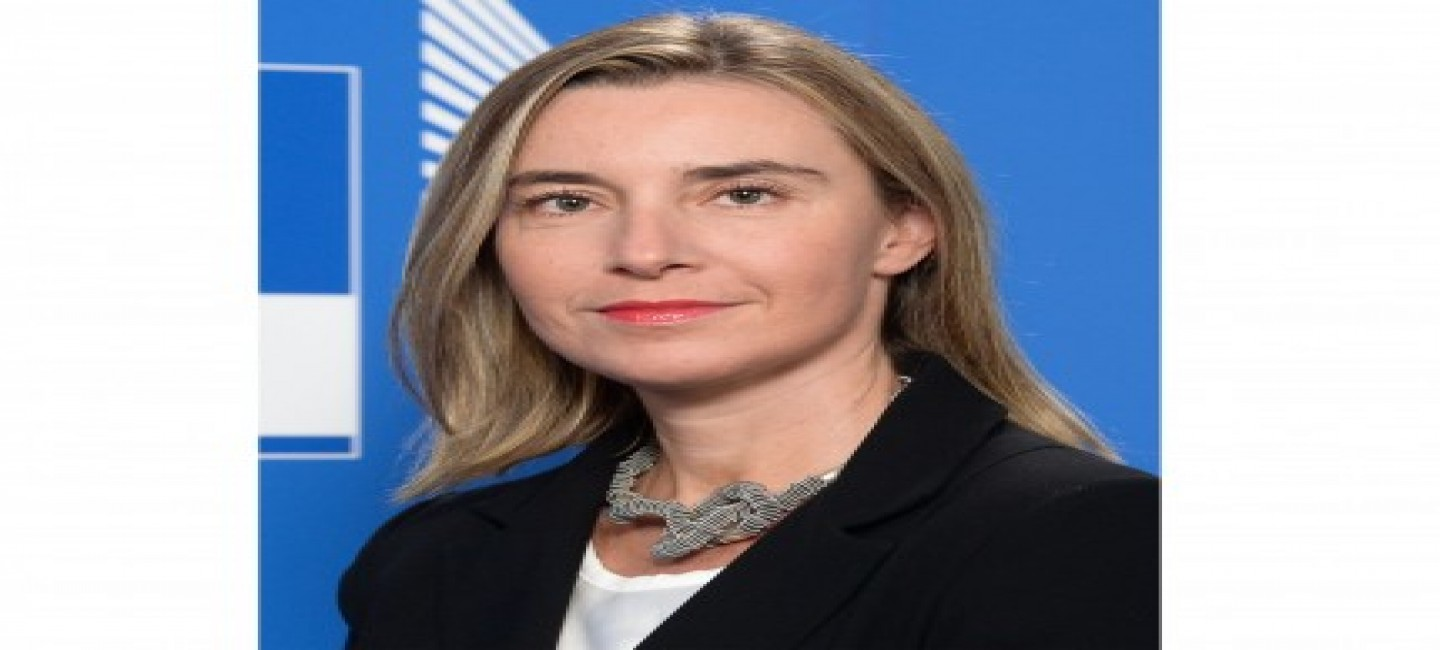 VISIT OF THE HIGH REPRESENTATIVE OF THE EUROPEAN UNION FOR FOREIGN AFFAIRS AND SECURITY POLICY FEDERICA MOGHERINI TO ASHGABAT