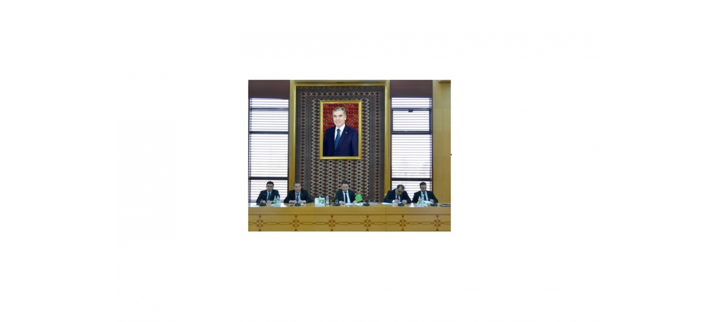 DRAFT OF THE AGREEMENT ON COOPERATION IN THE FIELD OF SCIENTIFIC RESEARCH ON THE CASPIAN SEA IS BEING DISCUSSED IN THE MFA OF TURKMENISTAN