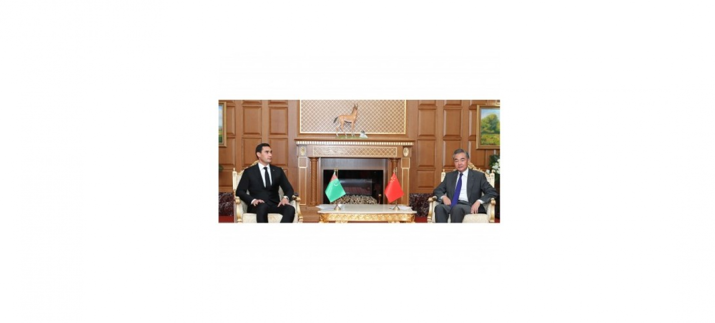 TURKMENISTAN AND THE PRC HAVE DISCUSSED THE PROSPECTS OF DEVELOPMENT OF STRATEGIC COOPERATION