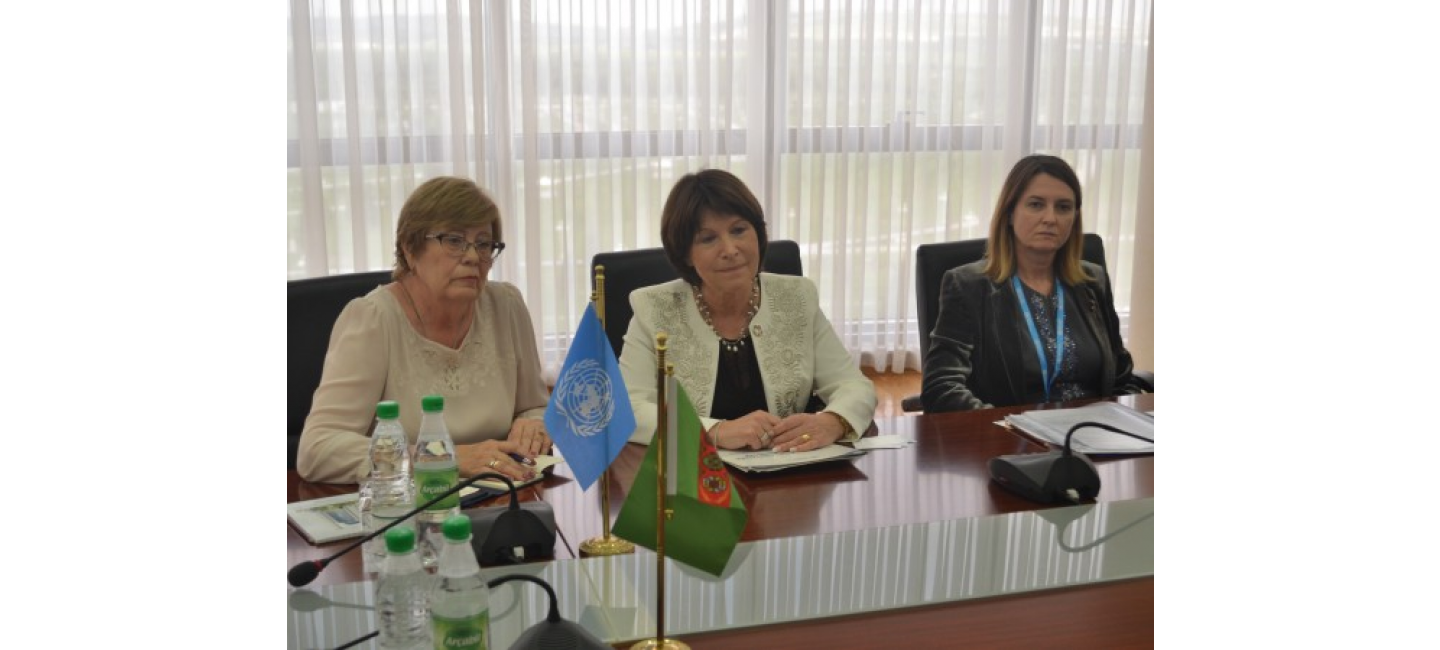 REPRESENTATIVES OF THE MINISTRY OF FOREIGN AFFAIRS OF TURKMENISTAN AND THE EUROPEAN BUREAU OF THE WORLD HEALTH ORGANIZATION DISCUSSED PROSPECTS FOR COOPERATION