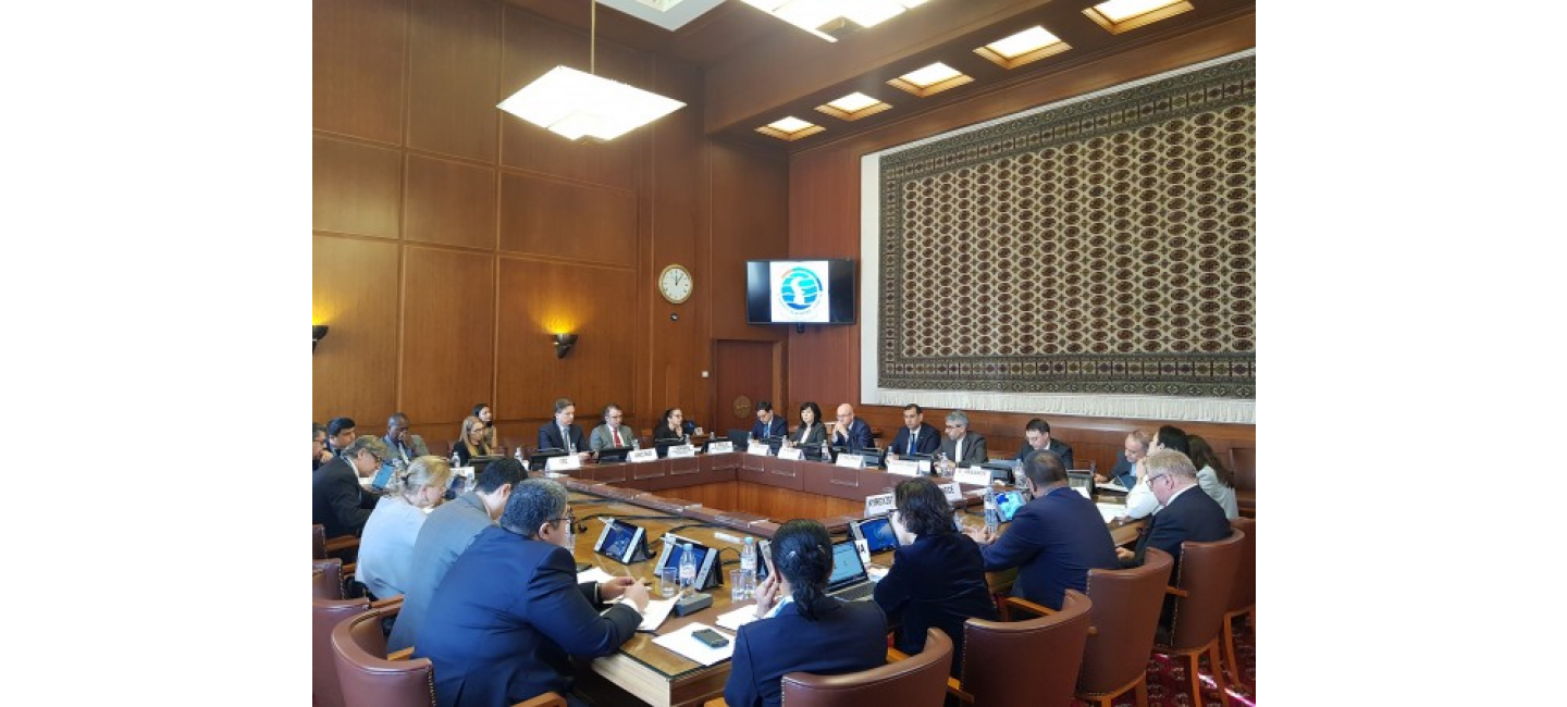A BRIEFING ON THE FIRST CASPIAN ECONOMIC FORUM WAS HELD IN GENEVA