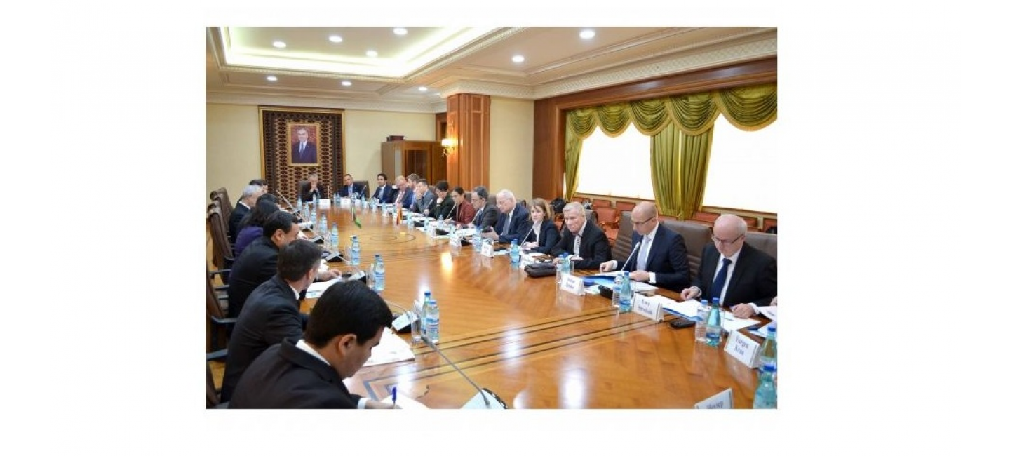 SUCCESSIVE MEETING OF THE TURKMEN-GERMAN JOINT WORKING GROUP TOOK PLACE IN ASHGABAT